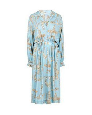 Платье - голубое Versace Collection