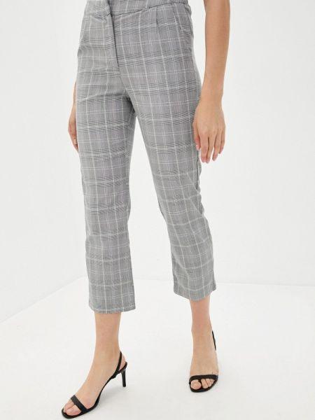 Повседневные серые брюки B.style