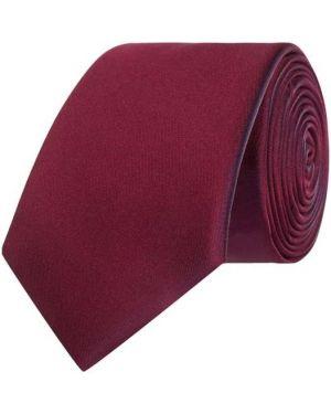 Fioletowy krawat z jedwabiu Monti