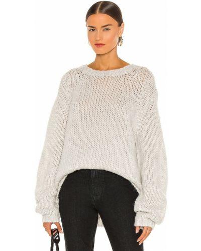 Otwarty sweter z alpaki Helmut Lang