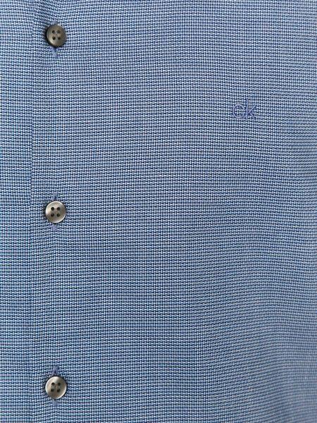 Хлопковая рубашка Calvin Klein