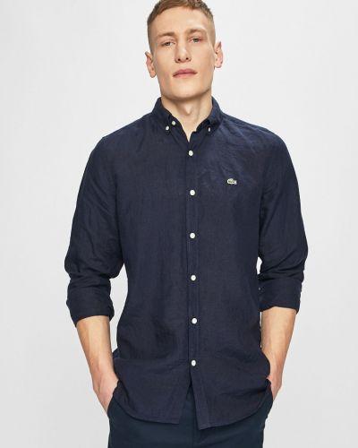 Рубашка с длинным рукавом темно-синий синий Lacoste
