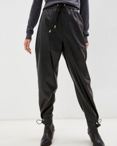 Кожаные брюки - черные Iceberg