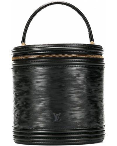 Черная сумка круглая Louis Vuitton Pre-owned