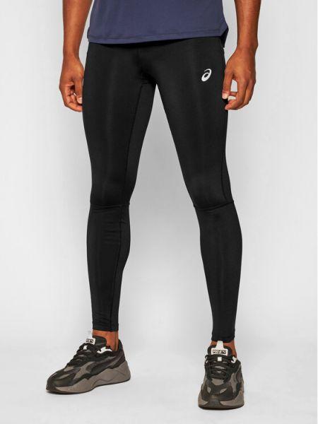 Czarne legginsy Asics