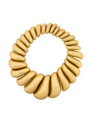 Złoty naszyjnik asymetryczny Monies