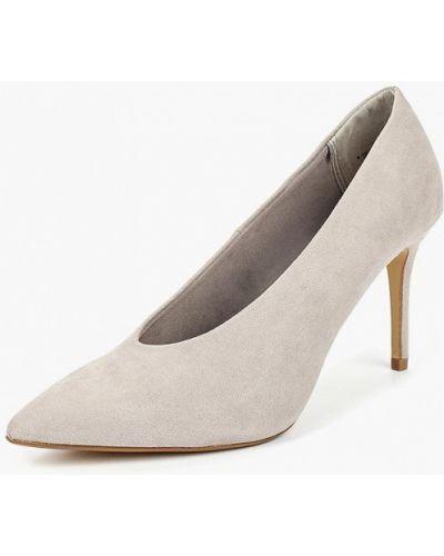 Туфли-лодочки на каблуке замшевые Dorothy Perkins