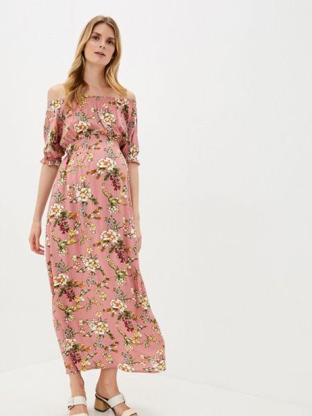 Платье розовое с открытыми плечами Mammysize