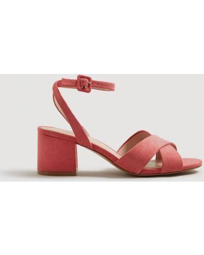 Розовые туфли Mango