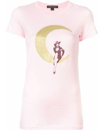 Футбольная розовая футболка Jill Stuart