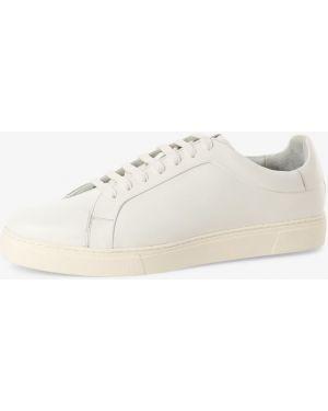 Białe wysoki sneakersy Gordon & Bros