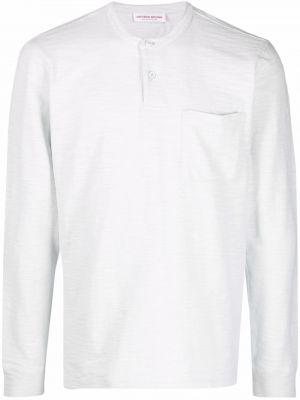 Футболка с карманами - белая Orlebar Brown