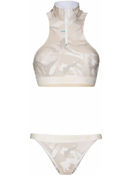 Biały bikini Off-white
