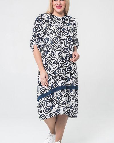 Асимметричное летнее платье в стиле бохо на молнии с вырезом Luxury