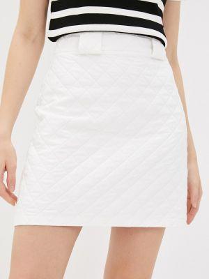 Белая юбка свободного кроя Adl