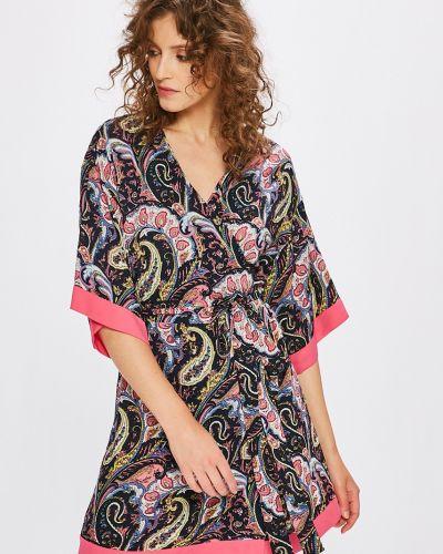 Платье мини с запахом в стиле бохо Answear
