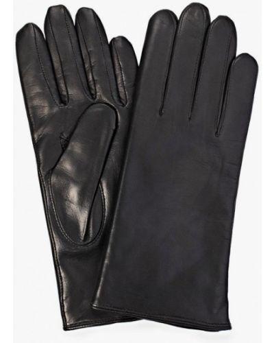 Кожаные черные кожаные перчатки Roeckl