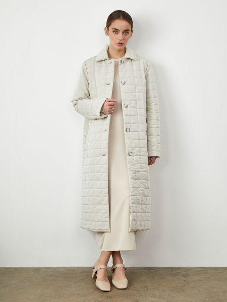 Стеганое стеганое пальто айвори 12storeez
