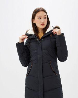 Теплая черная утепленная куртка Roxy