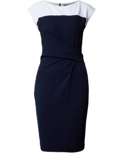 Niebieska sukienka koktajlowa Paradi