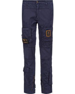 Хлопковые джинсы - синие Aeronautica Militare