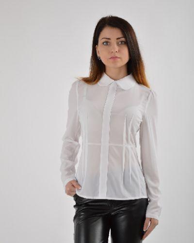 Блузка из полиэстера - белая Fendi