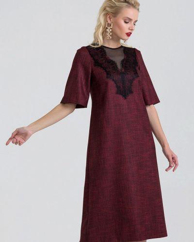 Платье бордовый красный Lova