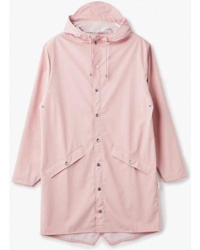 Розовый плащ Rains