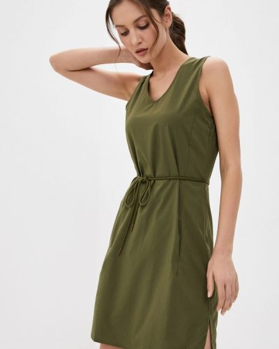 Зеленое платье Jack Wolfskin