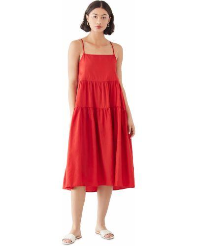 Текстильное платье Enza Costa