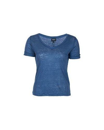 Синяя футболка Armani Jeans