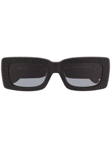 Солнцезащитные очки для зрения черные The Attico