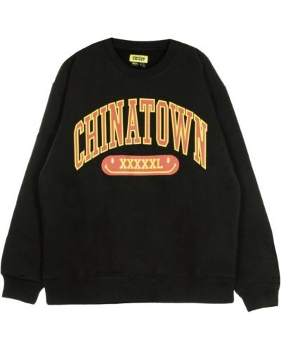 Czarna bluza dresowa Chinatown Market