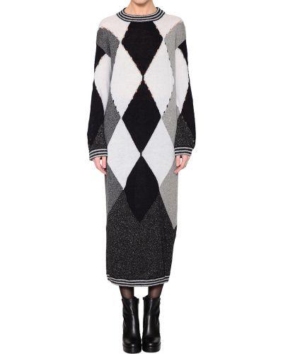 Шелковое платье - черное Ballantyne