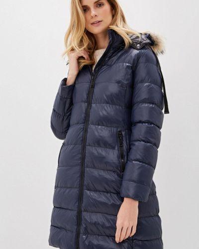 Утепленная куртка - синяя Macleria