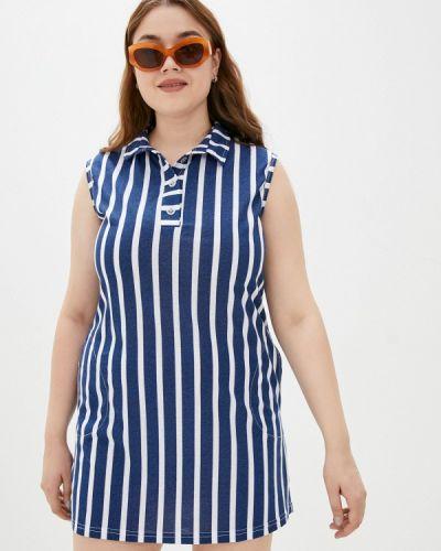 Синее повседневное платье Winzor