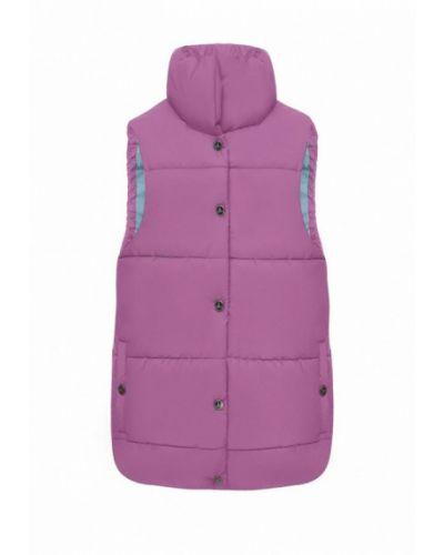 Фиолетовая теплая жилетка I-am