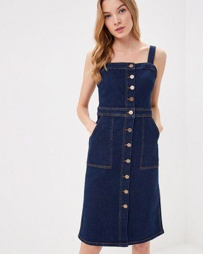 Джинсовое платье синее Marks & Spencer