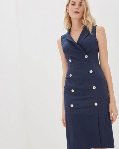 Платье платье-пиджак синее Vittoria Vicci