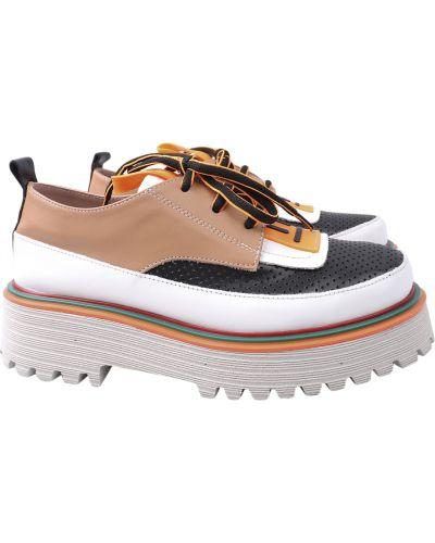 Кожаные туфли Aquamarin