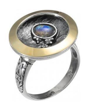 Кольцо из золота из серебра Den'o
