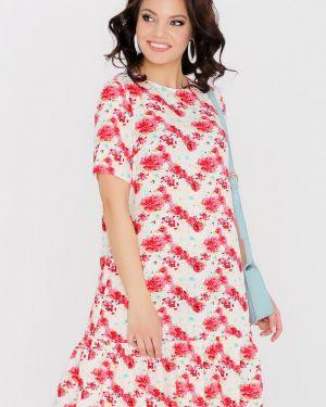 Летнее платье с цветочным принтом платье-сарафан Dstrend