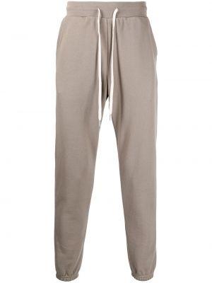 Spodnie bawełniane - brązowe John Elliott