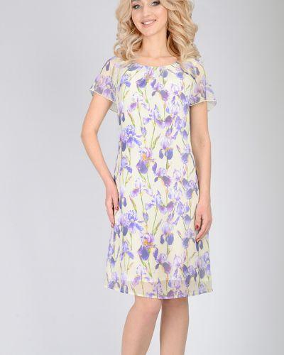 Платье с цветочным принтом с V-образным вырезом Open Fashion Premium