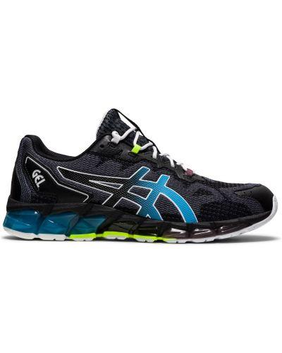 Черные кроссовки беговые для бега со вставками Asics