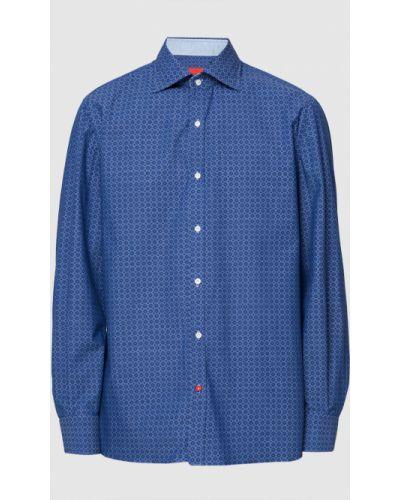 Рубашка - синяя Isaia