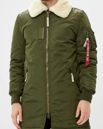 Зимняя куртка утепленная осенняя Alpha Industries