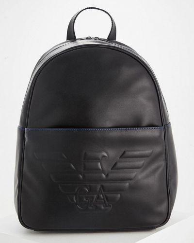 Черный рюкзак Emporio Armani