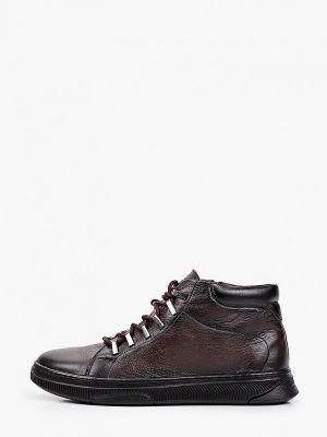Коричневые демисезонные ботинки Nexpero