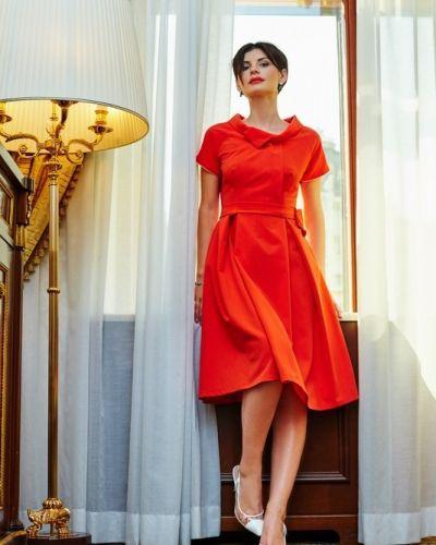 Платье - красное Golda